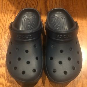 Crocs original clogs navy women's size 7 new